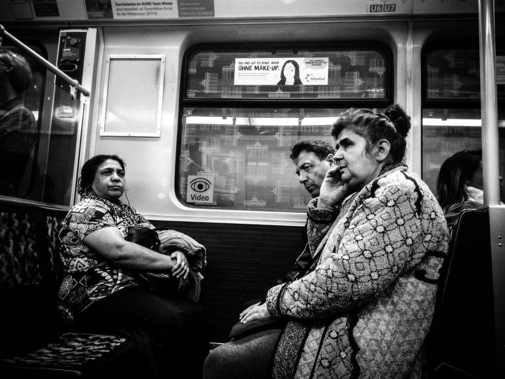 Women in the underground make-up