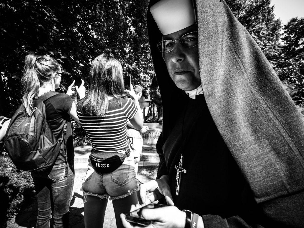 Nun sister woman portrait